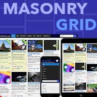MasonryGrid Pro - Responsive WordPress Theme