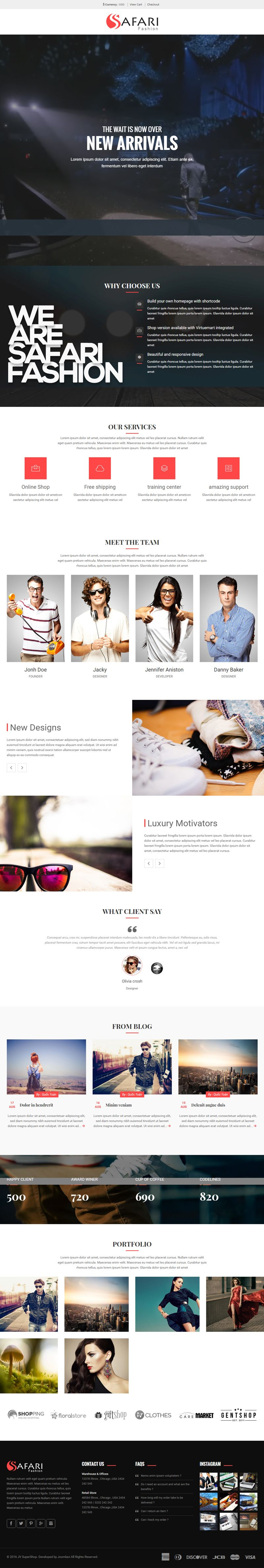 Safari - Responsive Multipurpose Shopify Theme Screenshot 5