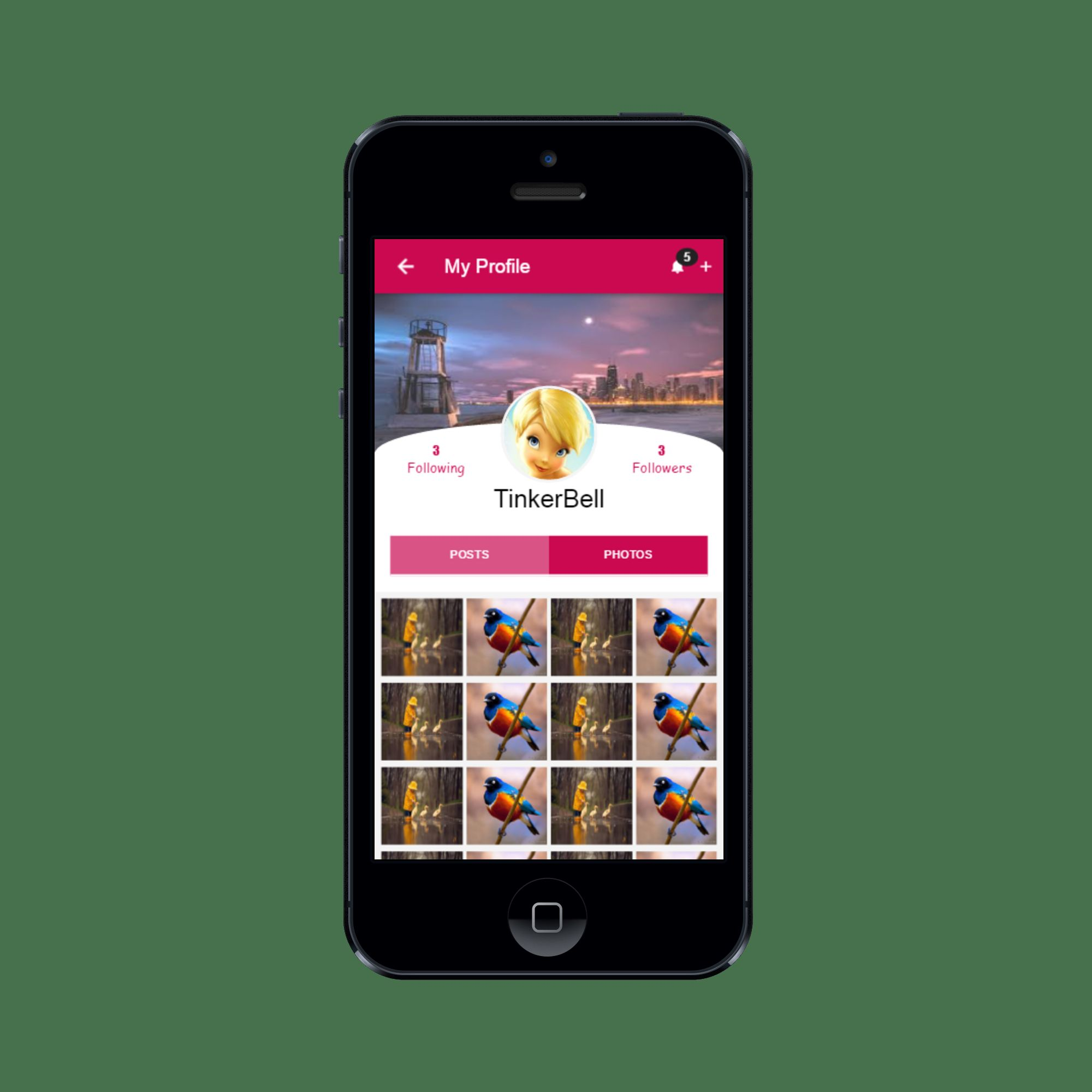 Connect Social - Ionic Social Network App Theme Screenshot 7