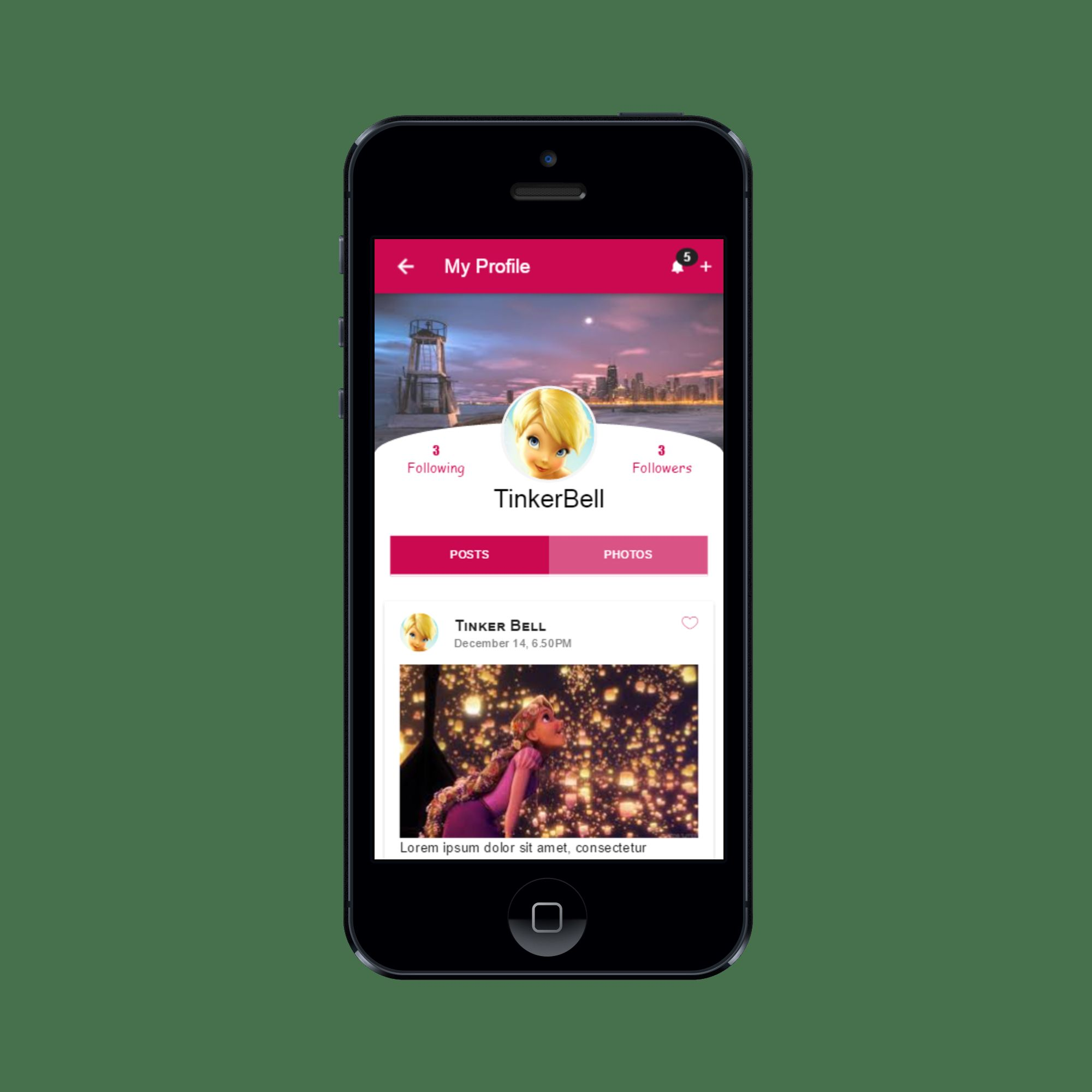 Connect Social - Ionic Social Network App Theme Screenshot 8