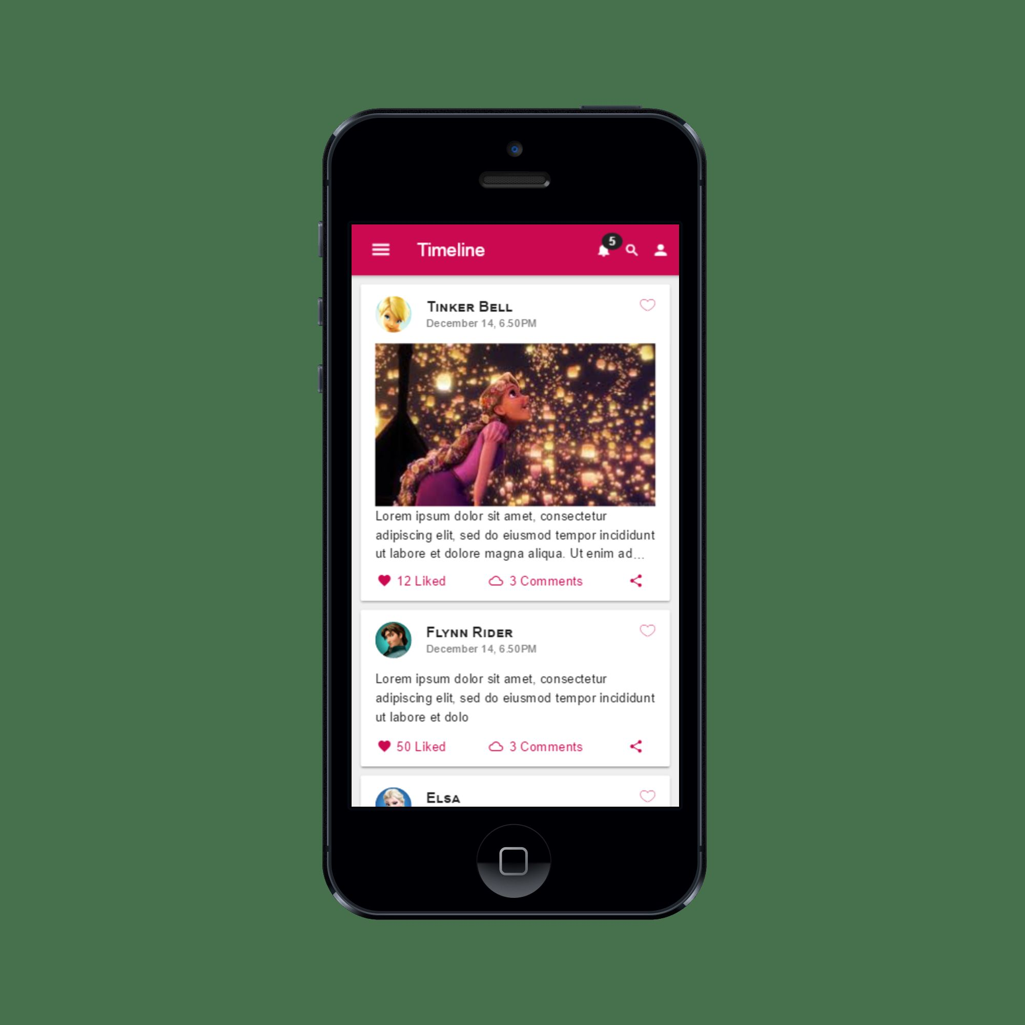 Connect Social - Ionic Social Network App Theme Screenshot 13