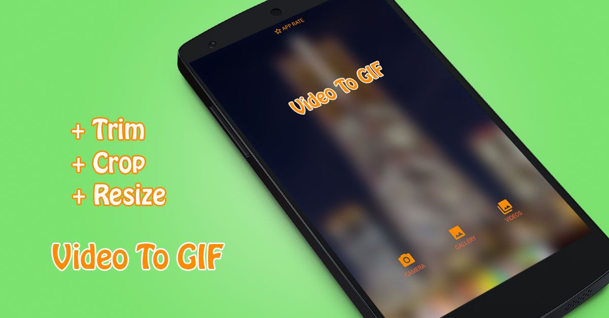 Video To GIF - Android App Source Code Screenshot 1