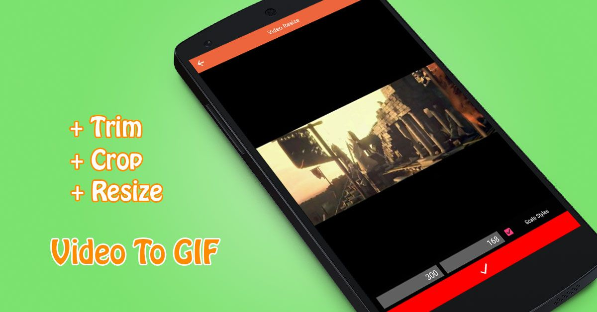 Video To GIF - Android App Source Code Screenshot 2