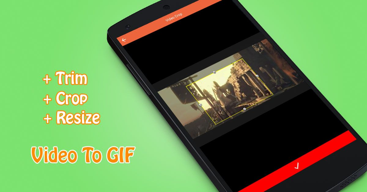 Video To GIF - Android App Source Code Screenshot 3