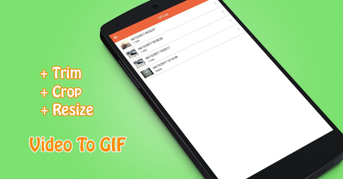 Video To GIF - Android App Source Code Screenshot 4