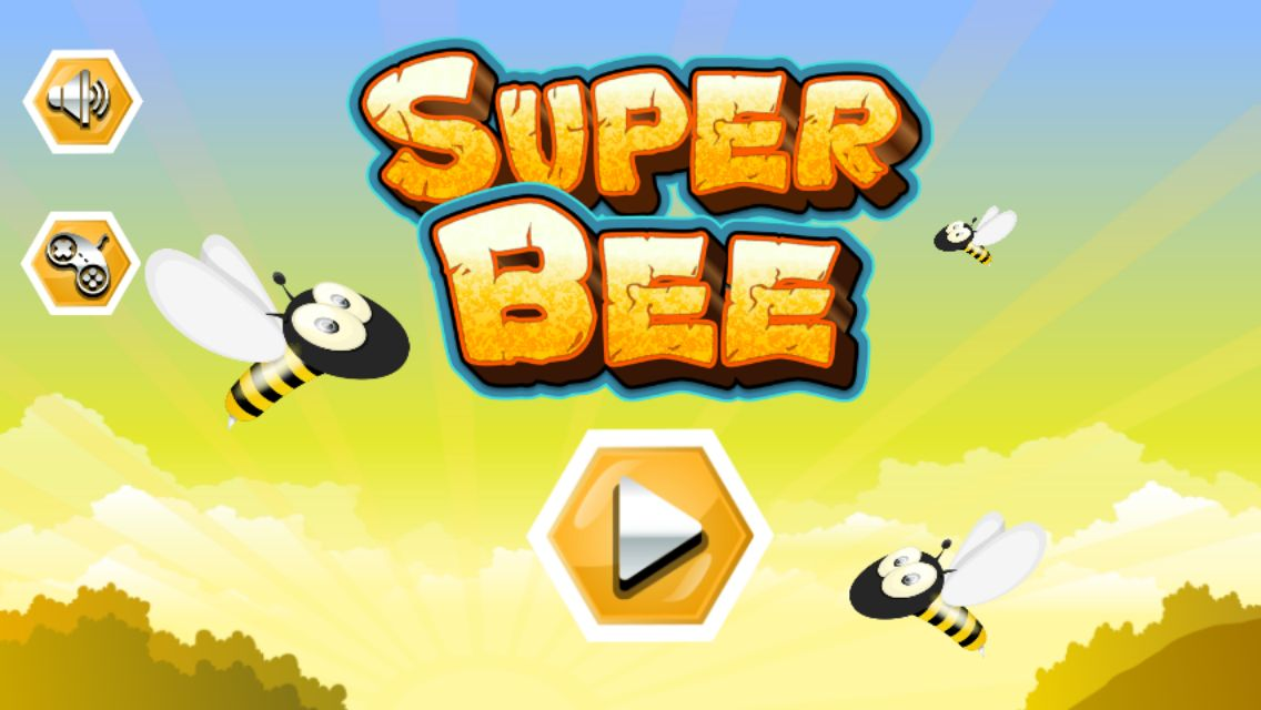Super Bee - Android Game Source Code Screenshot 1