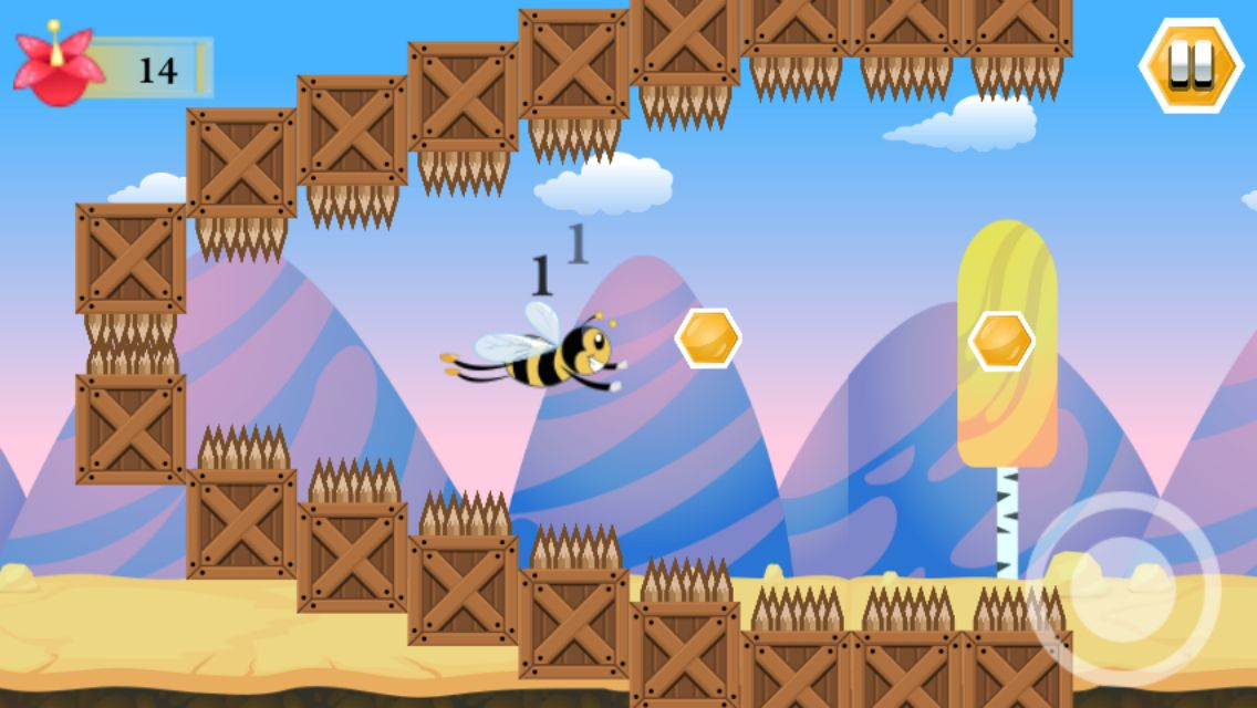Super Bee - Android Game Source Code Screenshot 3