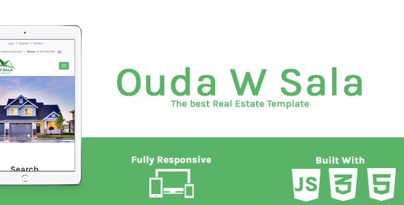 Ouda W Sala - HTML Real Estate Template Screenshot 5