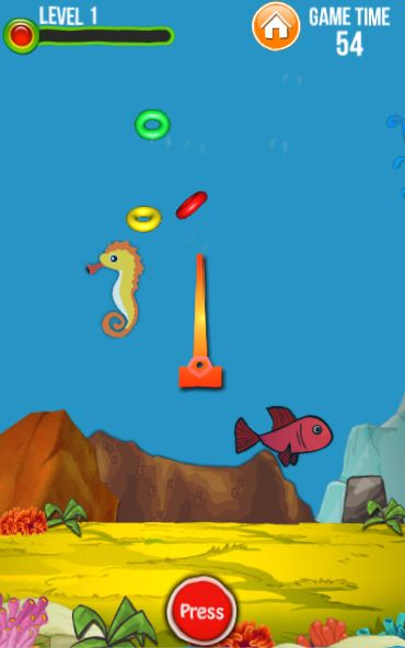 Water Ring Toss - Unity Game Source Code Screenshot 3