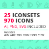 25 Iconsets Bundle