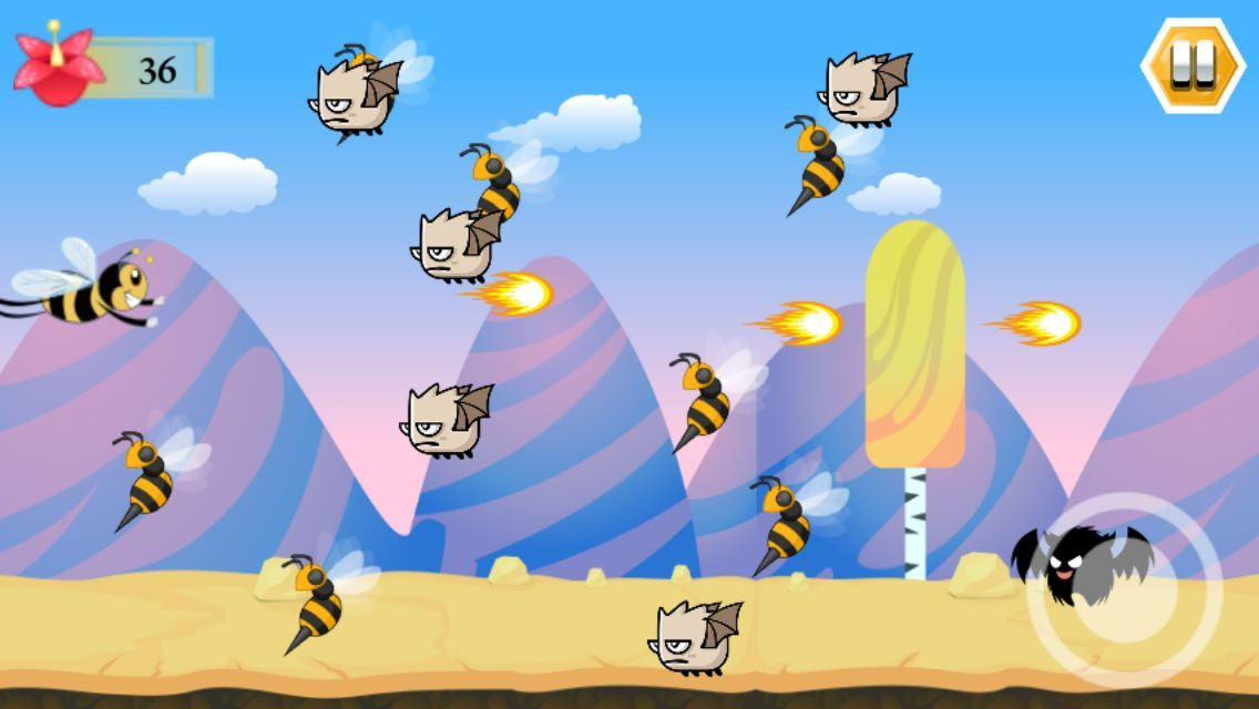 Super Bee - iOS Game Source Code Screenshot 4