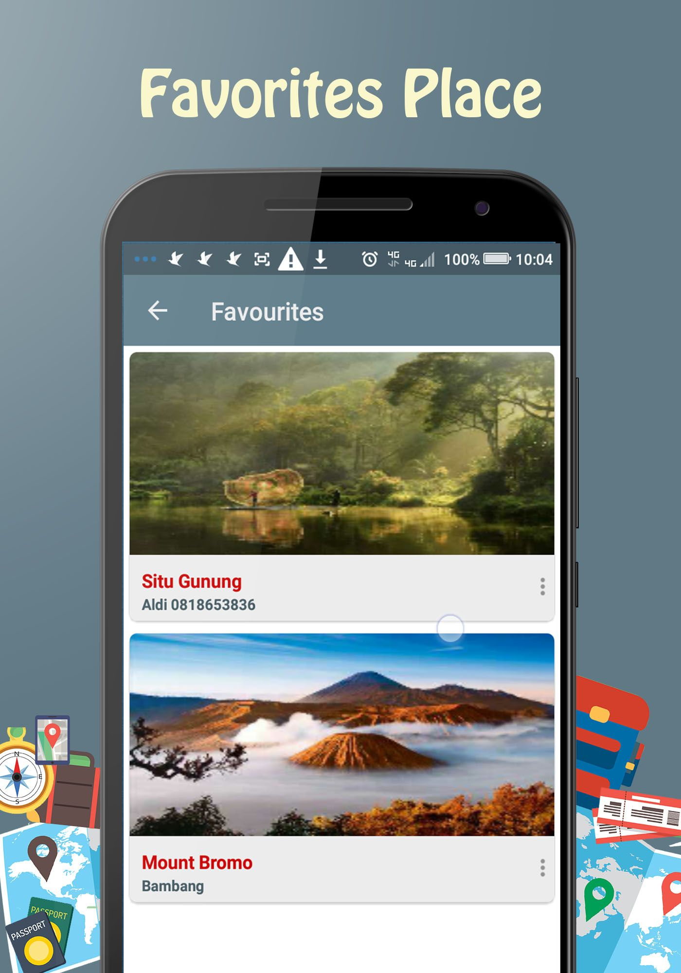 Backpacker - Android Travel App Screenshot 4