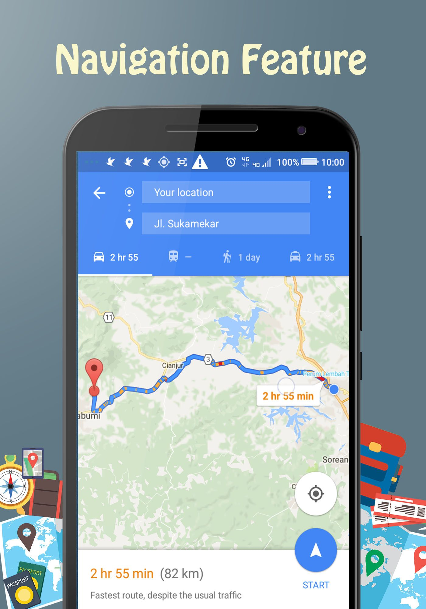 Backpacker - Android Travel App Screenshot 8