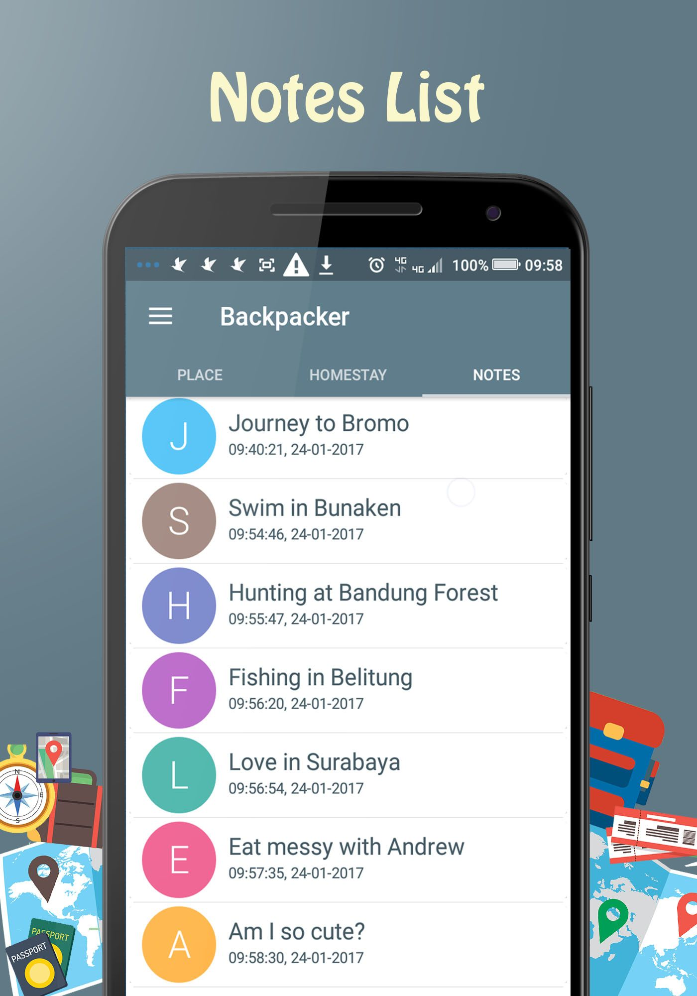 Backpacker - Android Travel App Screenshot 9