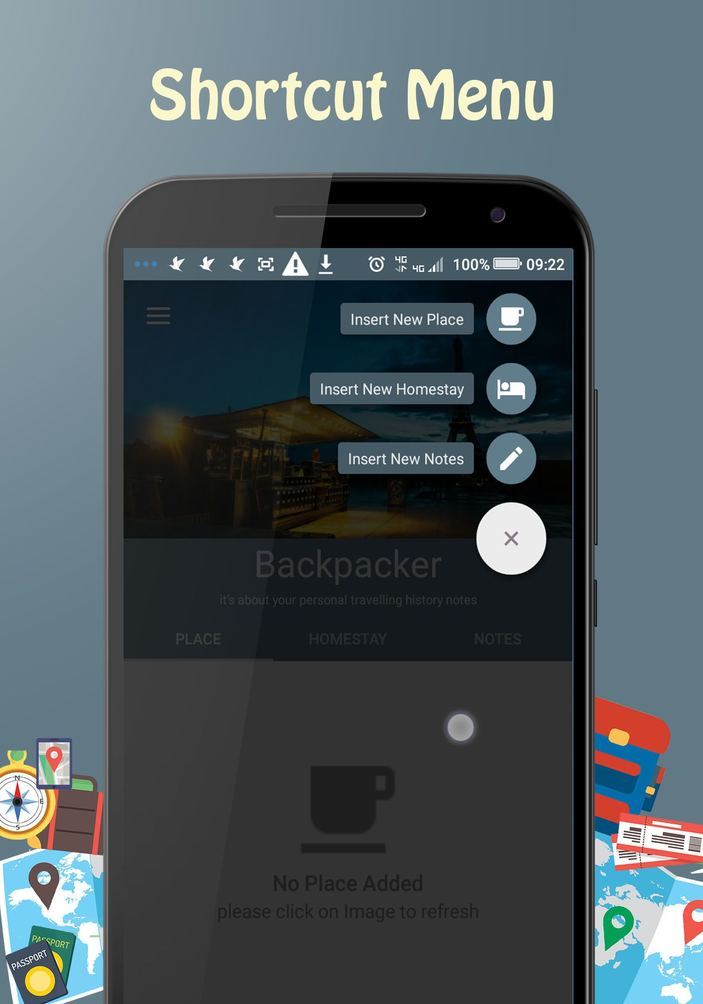 Backpacker - Android Travel App Screenshot 11