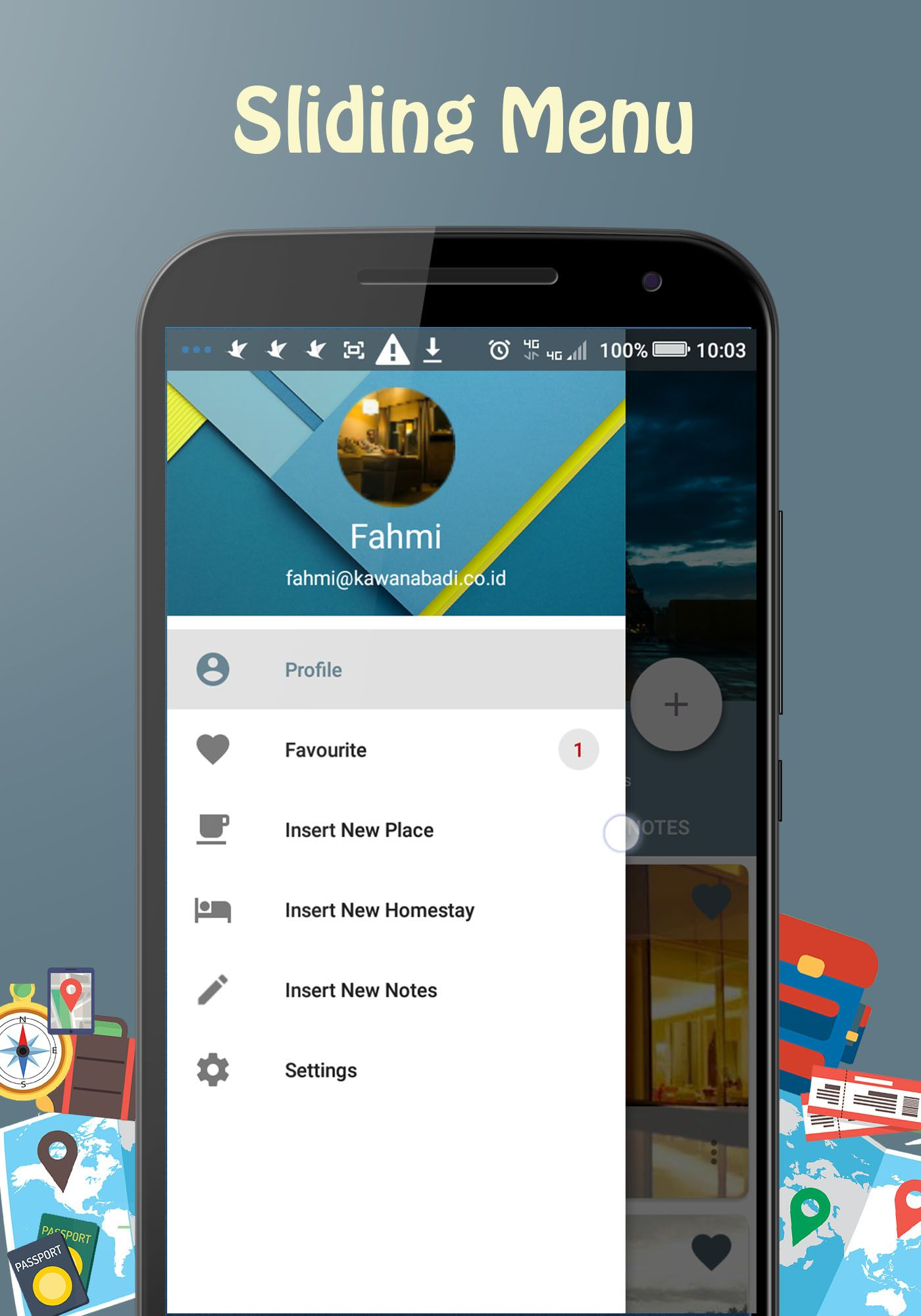 Backpacker - Android Travel App Screenshot 12