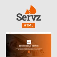 Servz Pro - Corporate Bootstrap Template