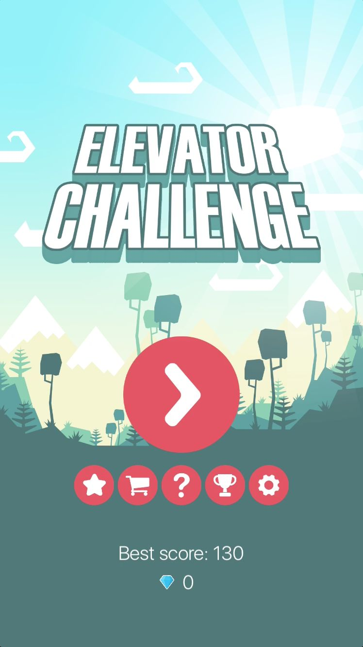 Elevator Challenge - iOS Xcode Game Source Code Screenshot 1