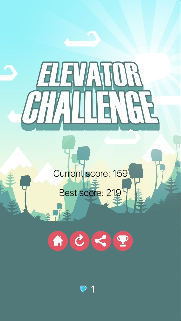 Elevator Challenge - iOS Xcode Game Source Code Screenshot 6