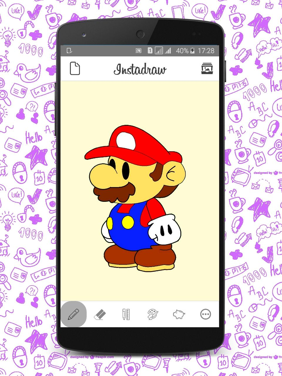 Instadraw - Android Drawing App Template Screenshot 1