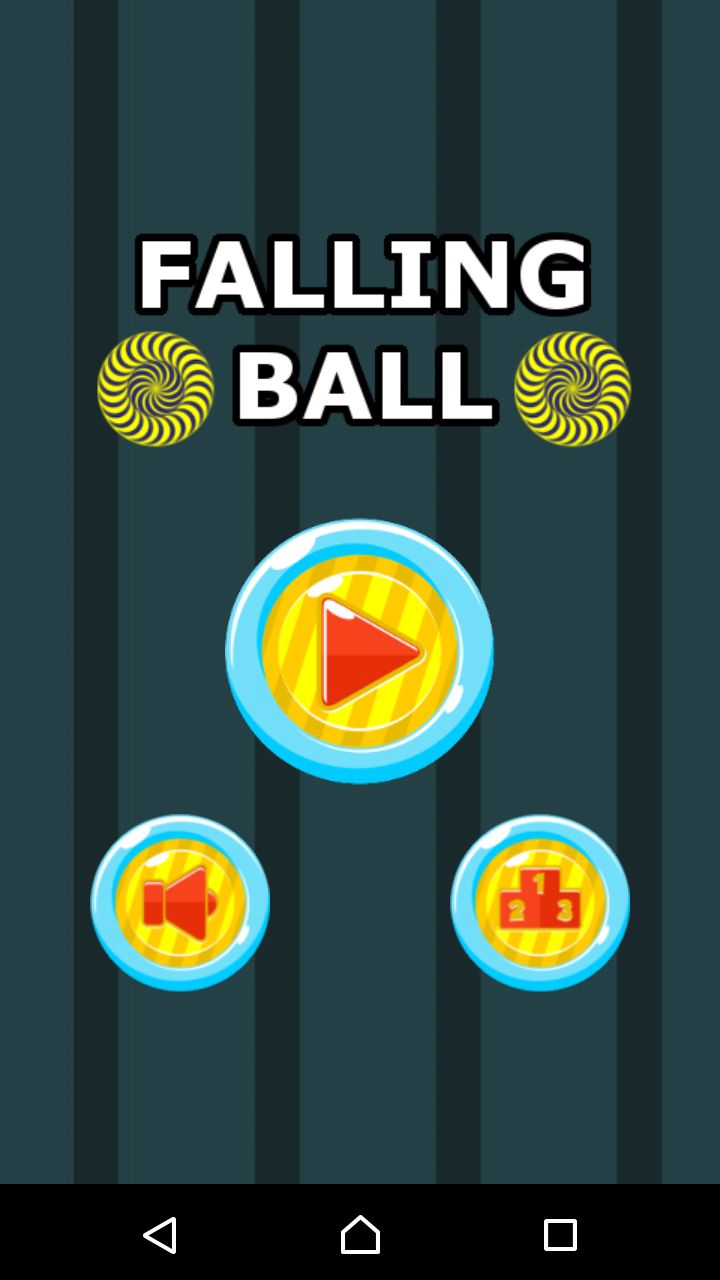 Falling Ball - Android Game Source Code Screenshot 1