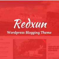 Redxun WordPress Theme