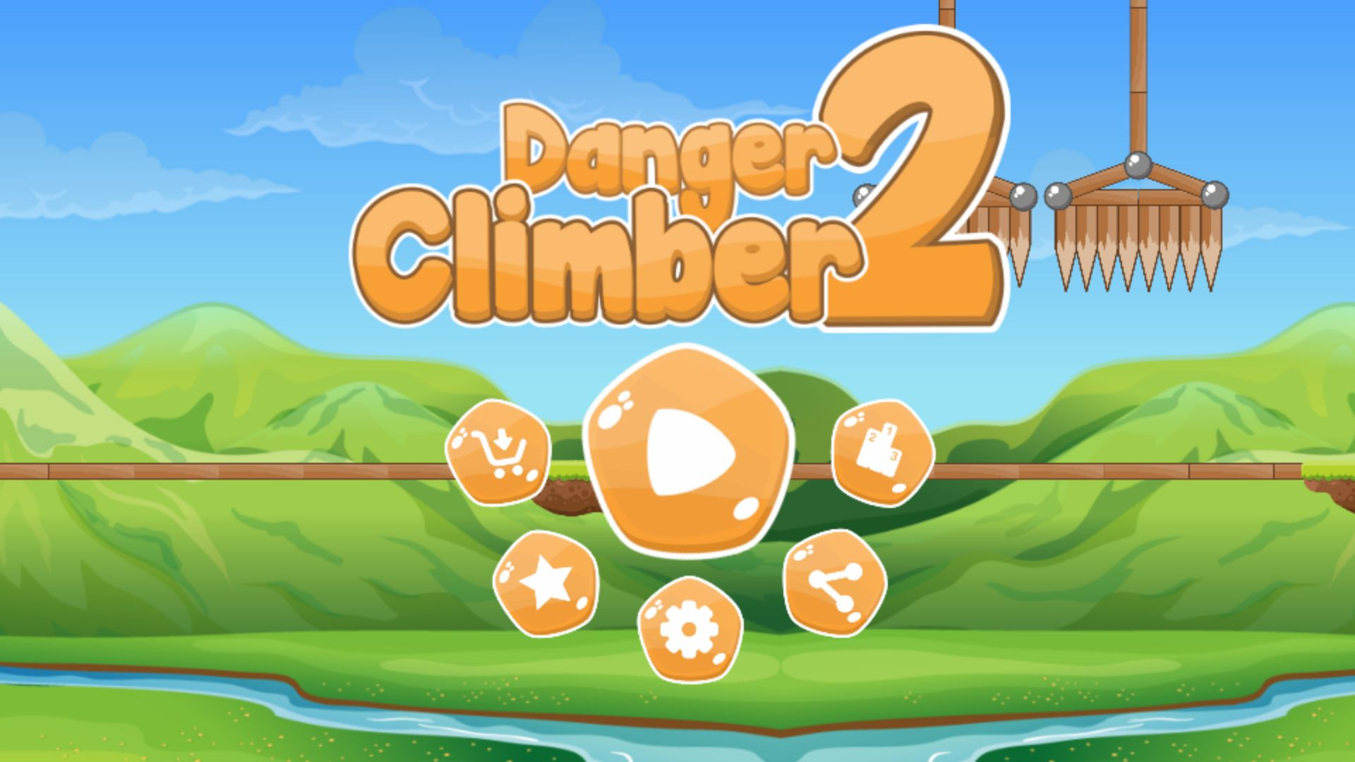 Danger Climber 2 - Android Game Source Code Screenshot 1