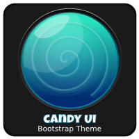 Candy UI Bootstrap Skin