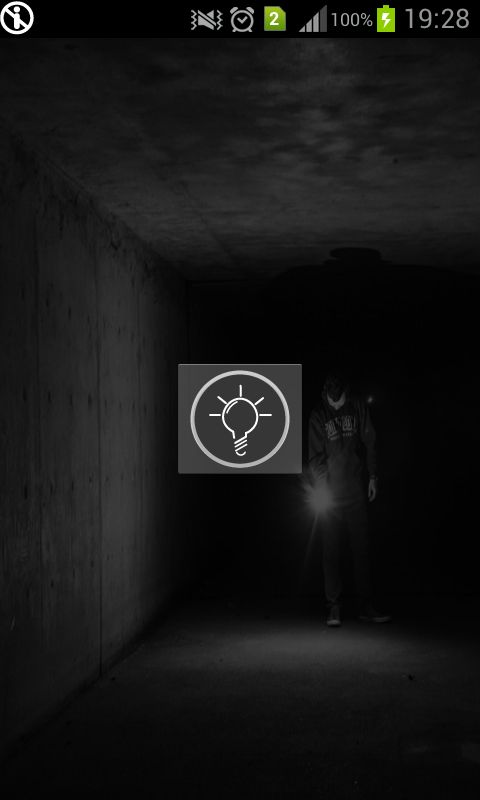 Fast Flashlight - Android App Template Screenshot 1
