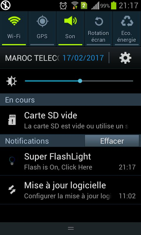 Fast Flashlight - Android App Template Screenshot 3