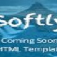 Softly - Coming Soon HTML Template