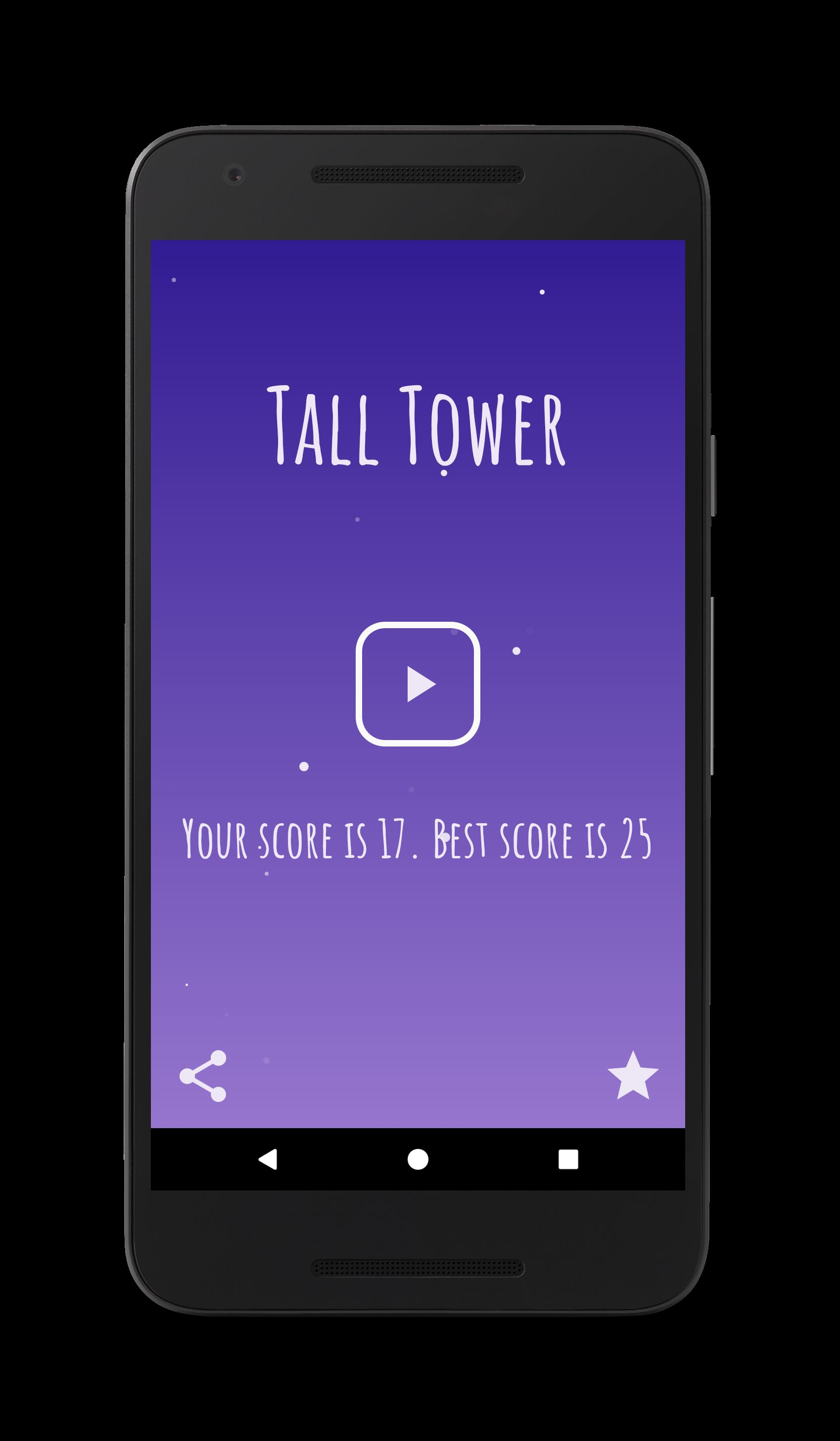 Tall Tower - Android Game Source Code Screenshot 3