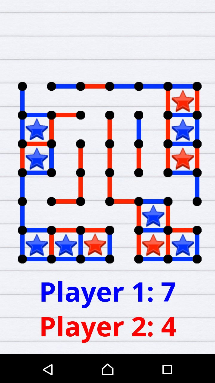 Dots And Boxes Android Game Source Code Screenshot 4