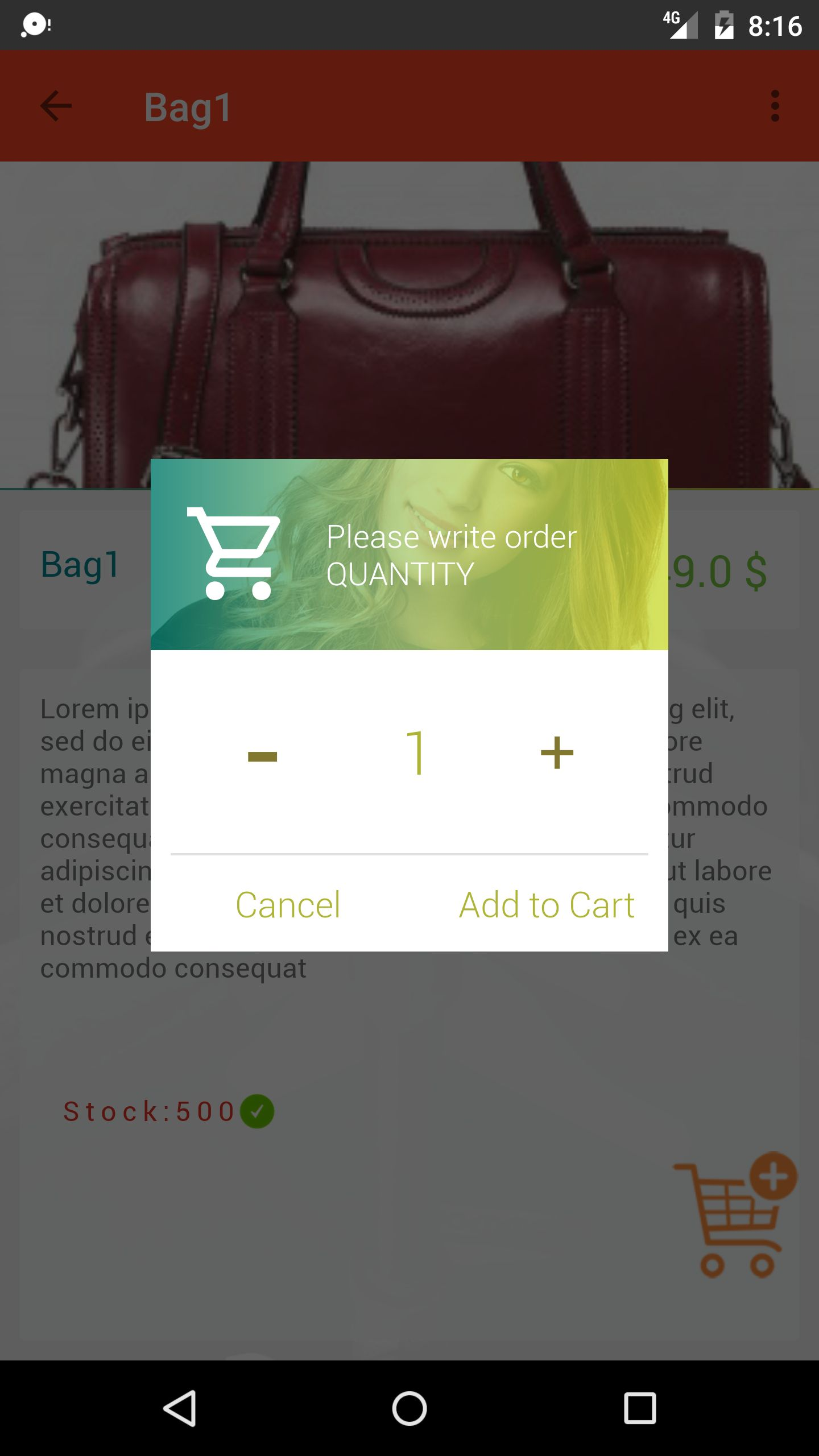 DoSHopping eCommerce App With Laravel Admin Panel Screenshot 7