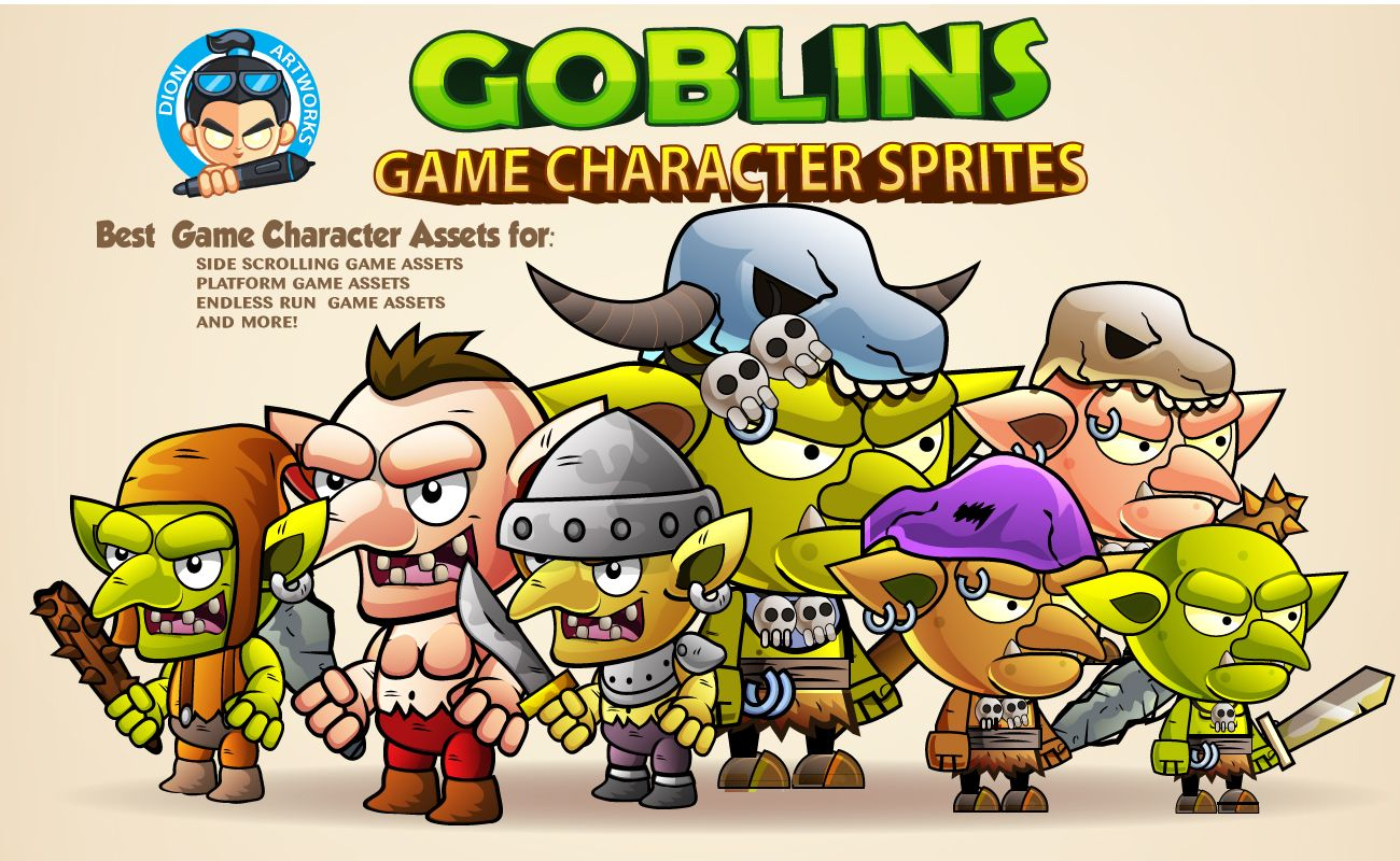 Goblins Game Character Sprites Screenshot 1