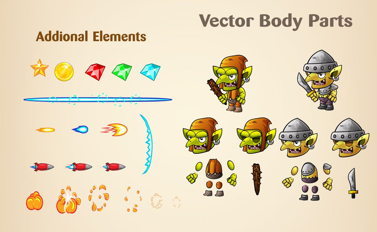 Goblins Game Character Sprites Screenshot 4