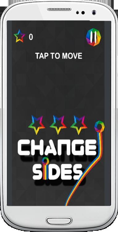 Change Sides - Android Source Code Screenshot 2