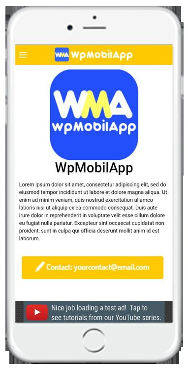 WpMobilApp - Wordpress Site To Mobile App Screenshot 2