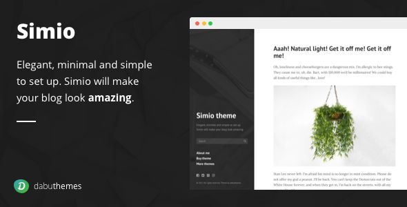 Simio - Premium Tumblr Theme Screenshot 7