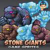 Stone Giants Game Sprites