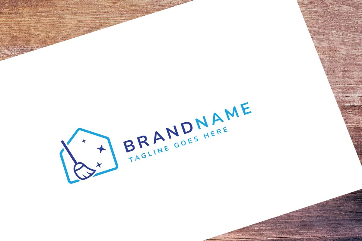 House Cleaning Logo Template Screenshot 1