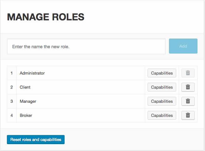 WP Roles Capabilities And Sessions Manager Plugin Screenshot 2