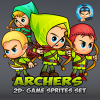 archers-2d-game-sprites-set