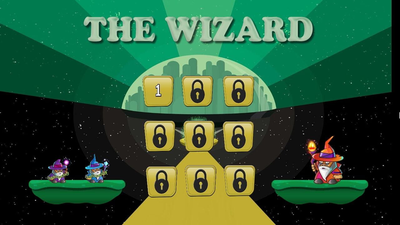 The Wizard Unity Game Source Code Screenshot 1