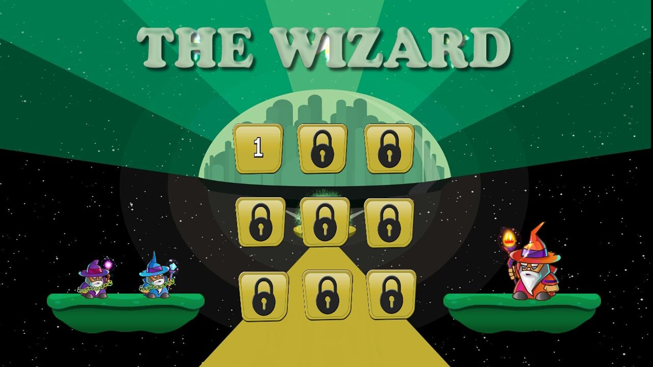 The Wizard Unity Game Source Code Screenshot 2