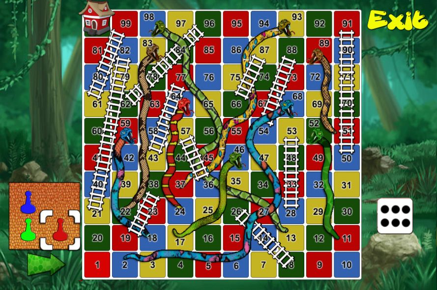 Snake And Ladders Unity Project Screenshot 3