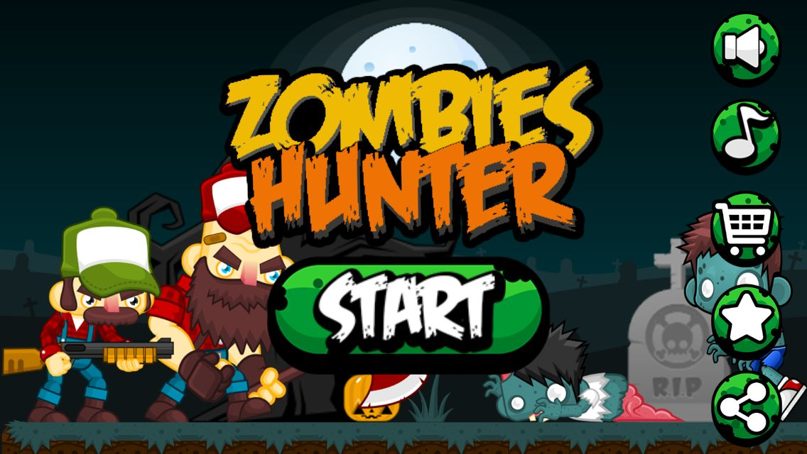 Zombies Hunter - Android Game Source Code Screenshot 1