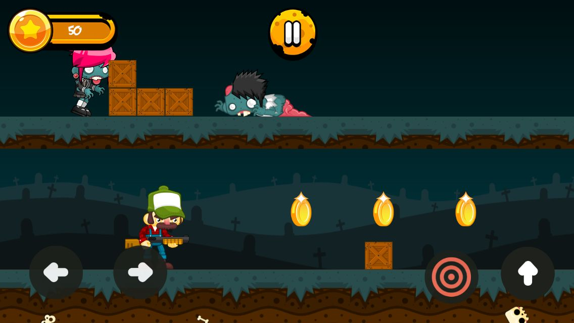 Zombies Hunter - Android Game Source Code Screenshot 2