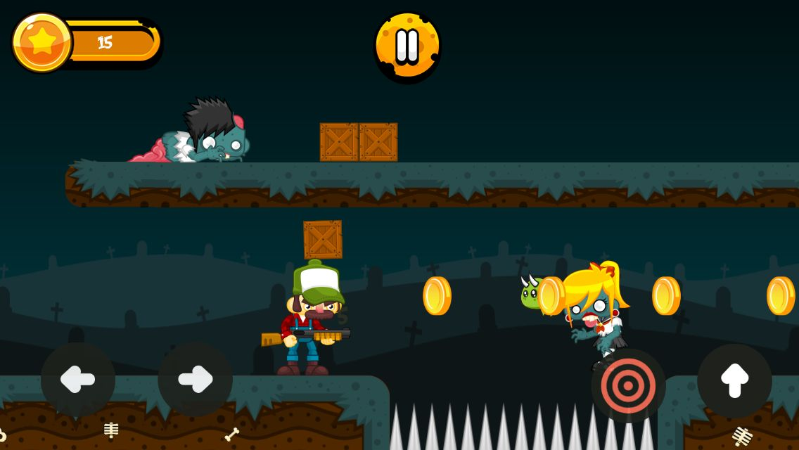 Zombies Hunter - Android Game Source Code Screenshot 3