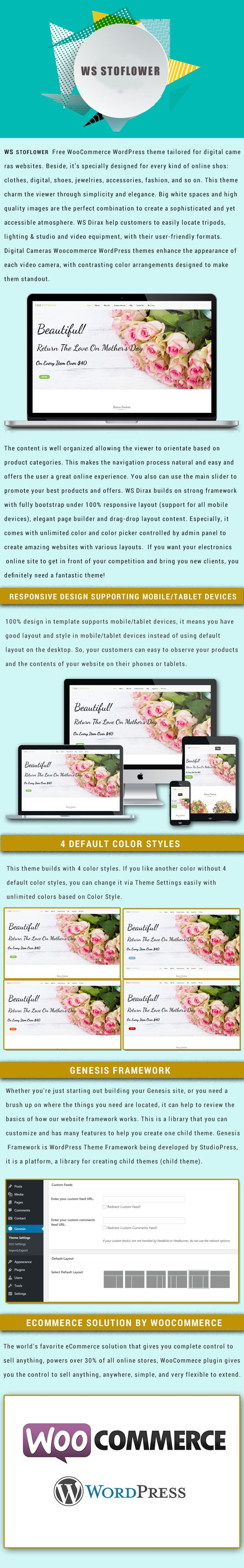 WS Soflower - Flower Woocommerce Wordpress Themes Screenshot 1
